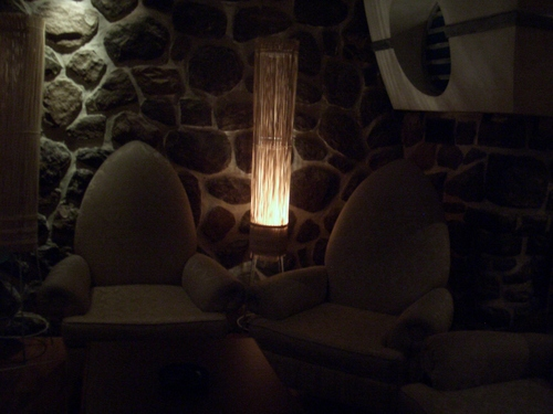 [Picture: Cosy corner in the bar]