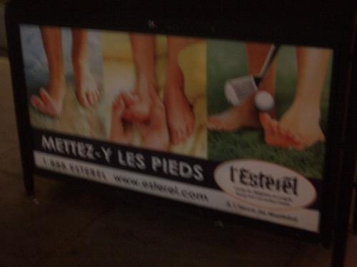 [Picture: Mettez-y les pieds]