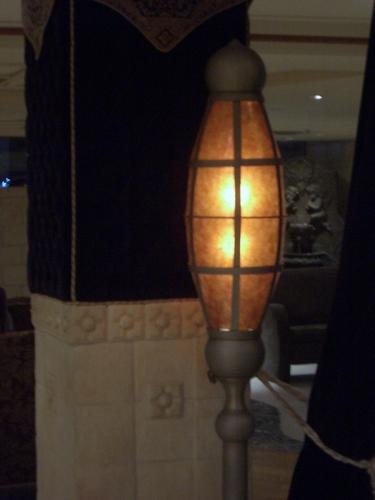 [Picture: Orange lamp 2]