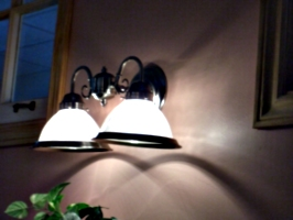 [picture: Restaurant lamps]