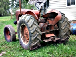 [picture: Tractor]
