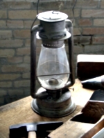[picture: Hurricane lamp]