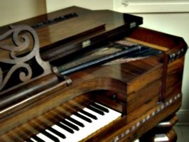 [picture: Victorian Square Grand Piano 2]