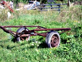 [picture: Old boat trailer 2]