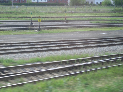 [Picture: Blurry railway tracks]