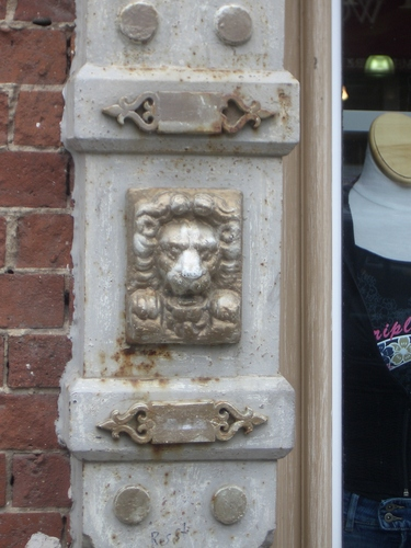 [Picture: Lion on the Wall]