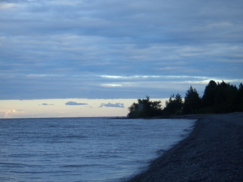 [Picture: Point Petre in the Evening]