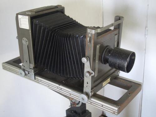 [Picture: Antique camera]