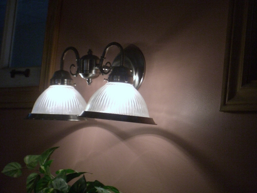 [Picture: Restaurant lamps 2]