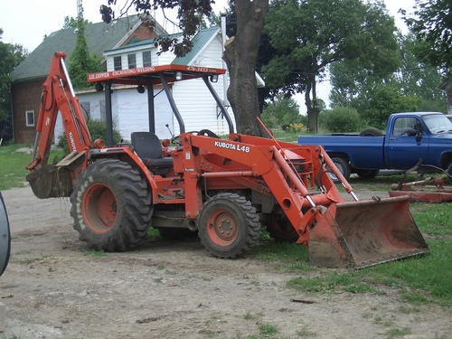 [Picture: Mechanical Digger]