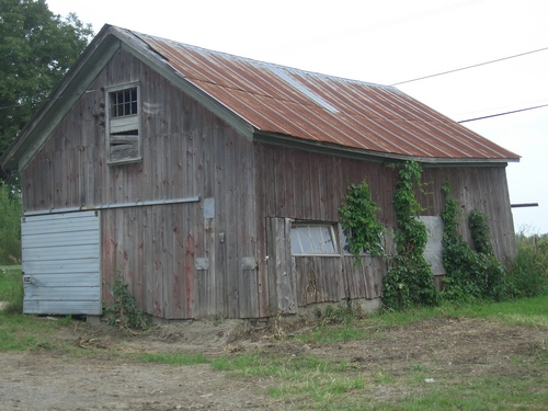 [Picture: Old barn]