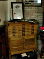 [Picture: Apothecary's chest]