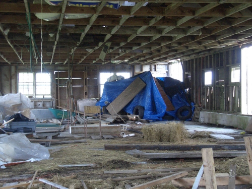 [Picture: Inside the barn 2]