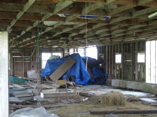 [Picture: Inside the barn 3]