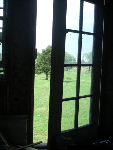 [Picture: Open door]