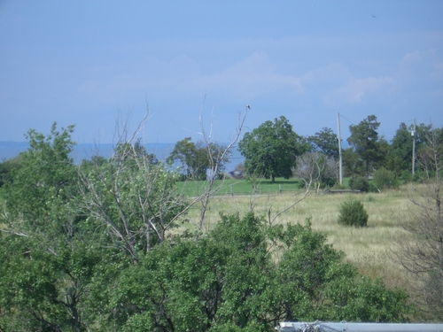 [Picture: View from the barn roof]