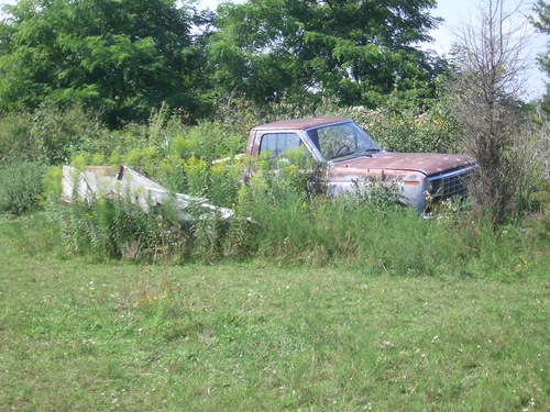 [Picture: Abandoned car 2]