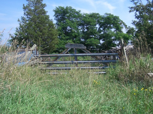 [Picture: Farm gate]