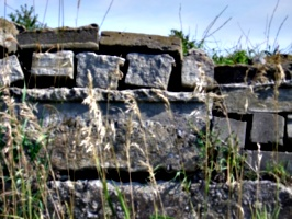 [Picture: Stone wall]