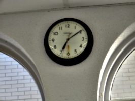 [picture: Station clock]