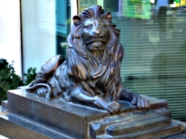 [picture: Bronze lion]