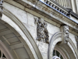 [picture: Stone coat of arms 3]