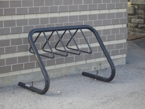 [Picture: Bike Rack]