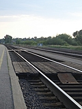 [Picture: Railway lines]