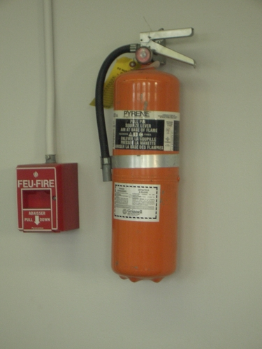[Picture: Fire Extinguisher]