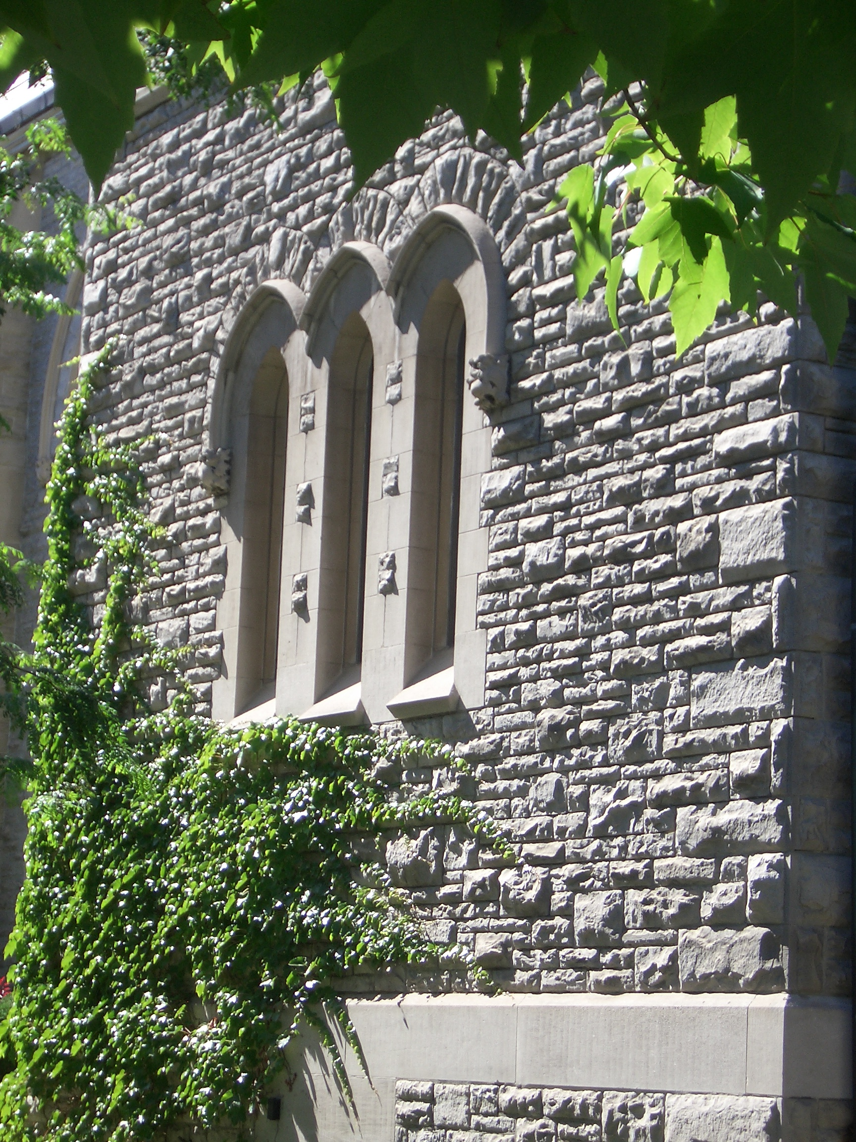 [Picture: Arched stone windows 2]
