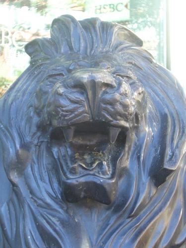 [Picture: Bronze lion 3]