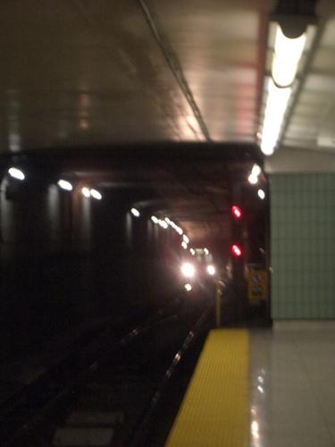 [Picture: Blurred subway station platform 4]