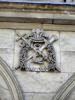 [Picture: Stone coat of arms 2]