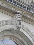 [Picture: Carved man's face 3]