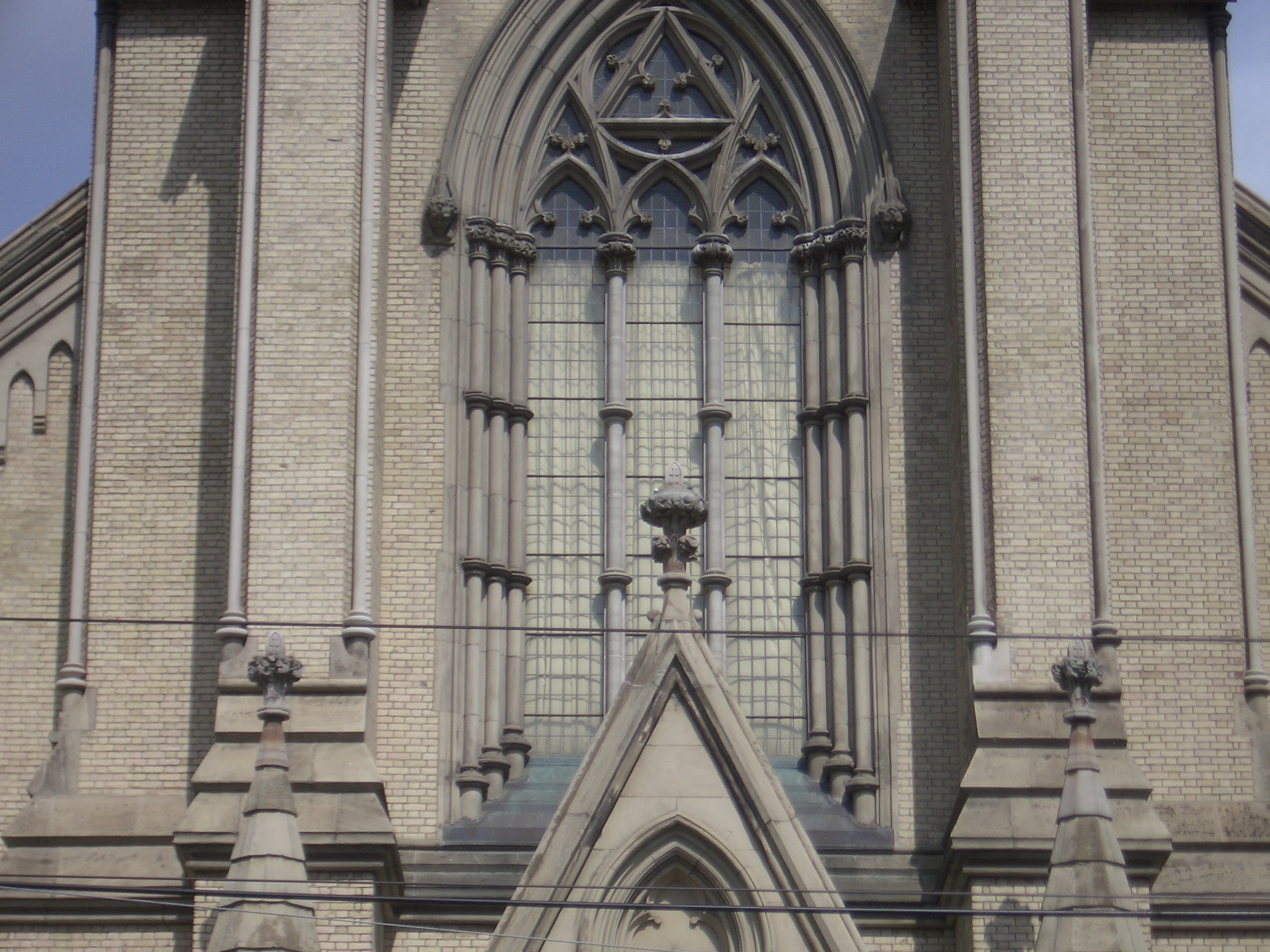 [Picture: St James Cathedral vertical panorama element 12]