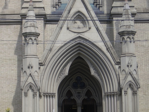 [Picture: St James Cathedral vertical panorama element 14]