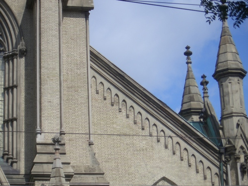 [Picture: St James Cathedral vertical panorama element 20]