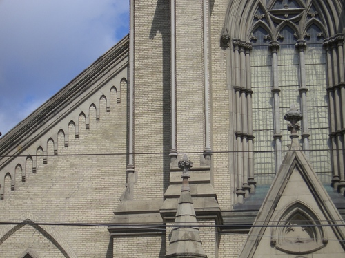 [Picture: St James Cathedral vertical panorama element 26]