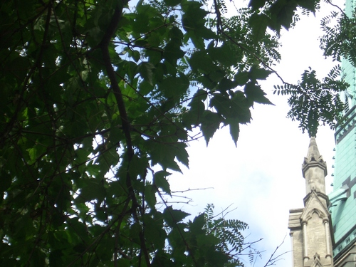 [Picture: St James Cathedral vertical panorama element 41]