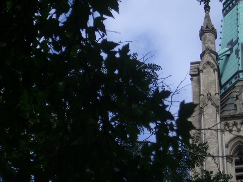 [Picture: St James Cathedral vertical panorama element 42]