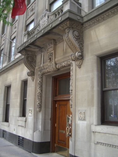 [Picture: Ornate entrance]