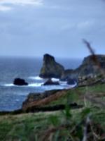 [picture: Atop the Cornish cliffs]