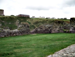 [picture: Ruins of Tintagel Castle 5: the great hall?]
