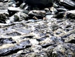 [picture: Ruins of Tintagel Castle 13: Tide-washed bricks]