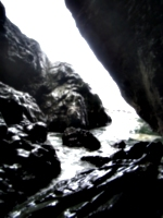 [picture: Merlin's Cave 9: The tide coming in]