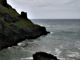 [picture: Ruins of Tintagel Castle 16: Beyond these castle walls]