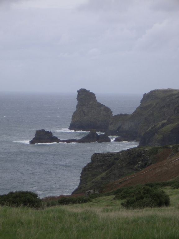 [Picture: Atop the Cornwall cliffs 2]