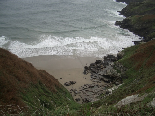 [Picture: Atop the Cornwall cliffs 3]