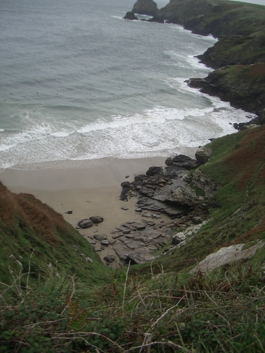 [Picture: Atop the Cornwall cliffs 4]