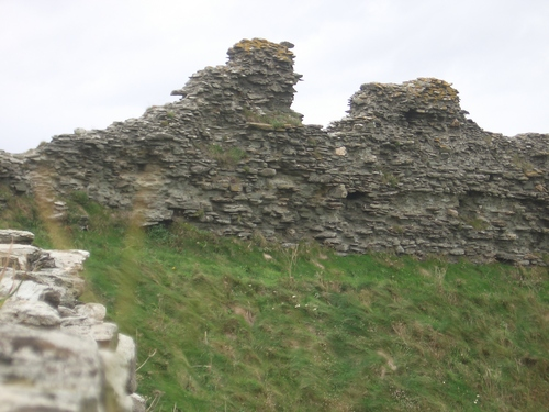 [Picture: Ruins of Tintagel Castle 1]